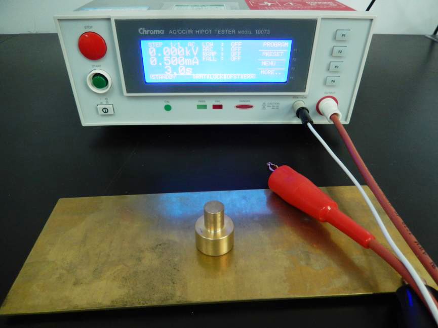 Electrical product high-voltage insulation test