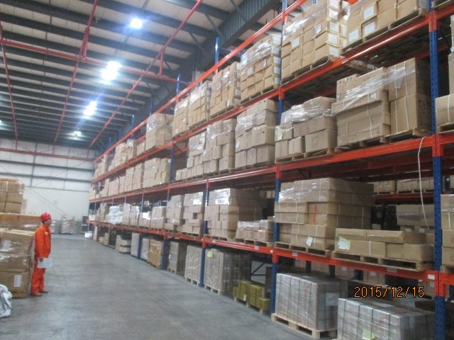Inspection in warehouse