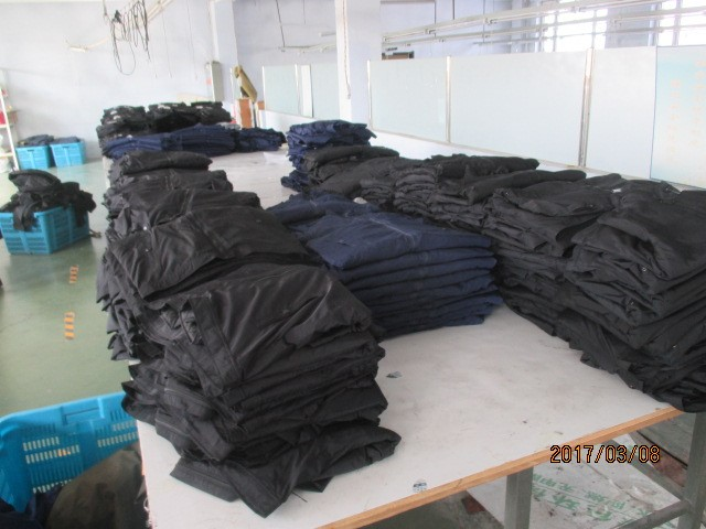 Garments inspection services in China