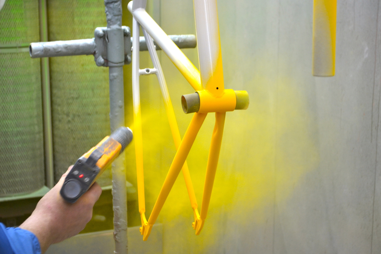 Quality standards and inspection method of powder coating products